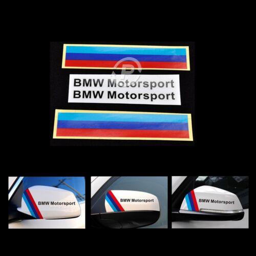 BMW M Performance Custom Decals Stickers For Grill Bumper Wheel Hood Door Window