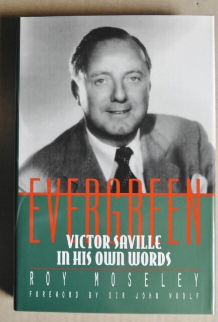 R40283 Evergreen: Victor Saville in His Own Words - Hardcover
