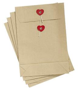 Papiertueten-4er-von-Nordal-mit-Herz-Papiertaschen-Geschenktuete-Geschentasche