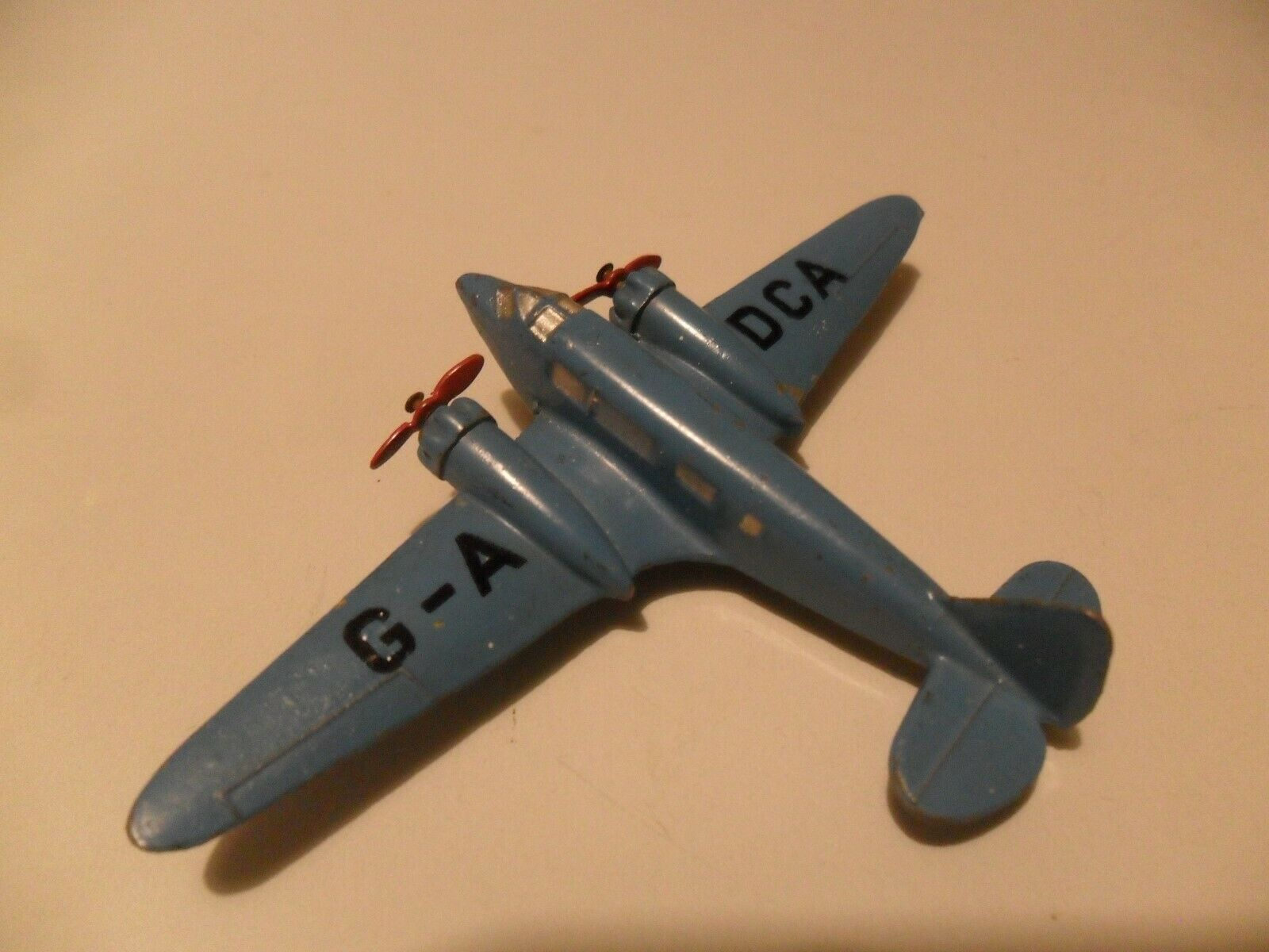 Dinky Toys aeroplane  62m airspeed envoy aircraft, excellent