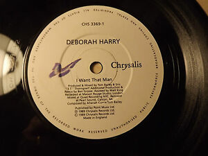 Deborah HarryI Want That Man45rpm 80s - <span itemprop='availableAtOrFrom'>Woking, Surrey, United Kingdom</span> - Deborah HarryI Want That Man45rpm 80s - Woking, Surrey, United Kingdom