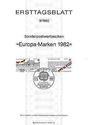 Brd 1982: Europa: Hambacher Fest + Römische Verträge Et-blatt Nr 1130+1131! 1906 Online Shop
