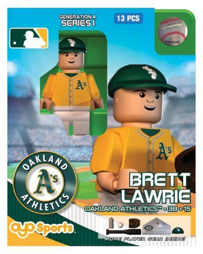 Brett Lawrie OYO Oakland Athletics MLB Mini Figure NEW G4