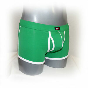 WJ - Modische Boxer mit Eingriff  Size:M (1142)
