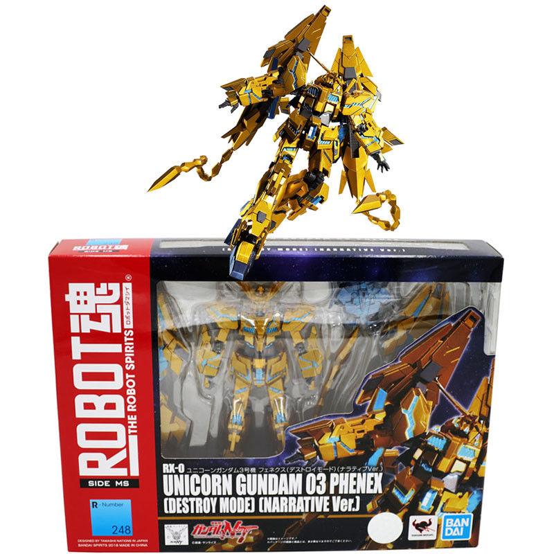 Robotar andas Soul 248 RX -0 Enhörning Gundam 03 Fenex Deberättelse Mode Berättigande Ver.
