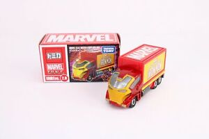 Takara-Tomy-Tomica-Disney-Motors-Marvel-TUNE-Masked-Carry-Iron-Man-Diecast-Car