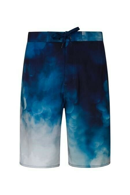 Mountain Warehouse Wave 4-Way-Stretch Mens Board Shorts - bluee Large 5RN83