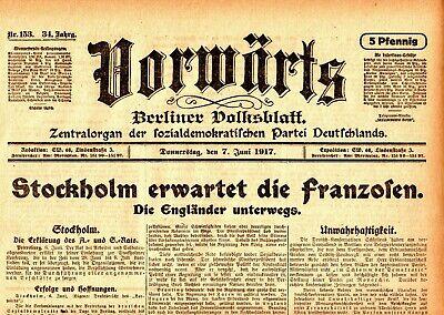 ZuverläSsig 1917 VorwÄrts Stockholm Erwartet Die Franzosen Kronstadter Revolution Plechanow