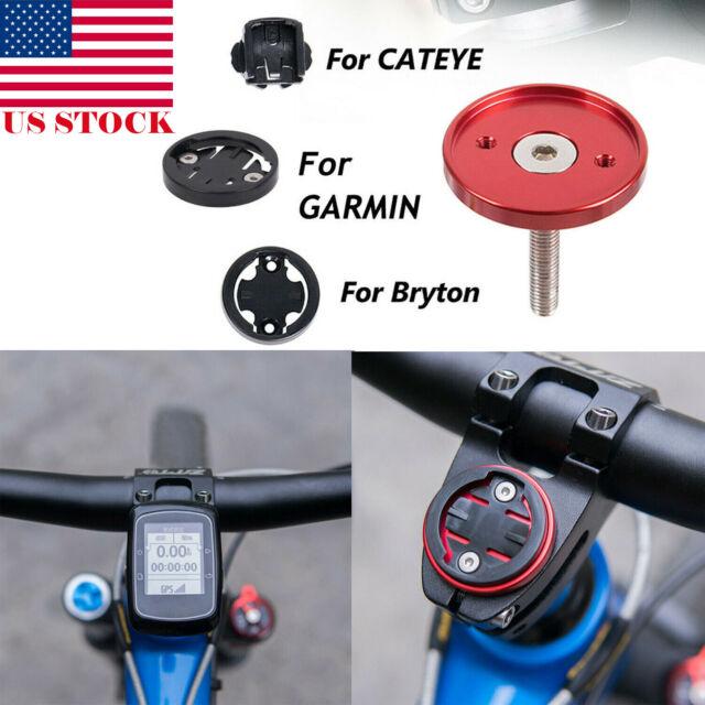 New Bike Stem Top Cap Computer Stopwatch Mount Holder for Garmin//Bryton//Cateye