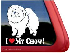 I Love My Chow! High Performance Vinyl Window Car Truck Decal Sticker