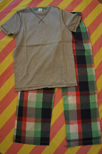 SALE-BNIB-NEW-Johnnie-B-Boden-PJ-Pyjama-Pyjamas-Set-Age-8-Multi-Check