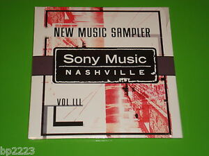 Details about SONY MUSIC NASHVILLE NEW MUSIC SAMPLER FEAT MIRANDA LAMBERT &  MORE PROMO CD-NEW