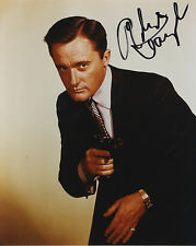 """Robert Vaughn """" Napoleon Solo in The Man From U.N.C.L.E """" I/P Signed Photograph"""