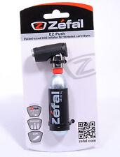Zefal EZ Push Co2 Mini Cartridge Bicycle Tire Inflator Bike Pump,Presta&Schrader