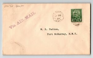 Canada-1929-FFC-Ft-Simpson-to-Ft-McMurray-515g-Z12970