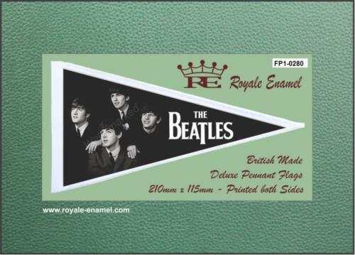 Royale Antenna Pennant Flag - THE BEATLES 3 MOD SIXTIES BEAT - FP1.0280