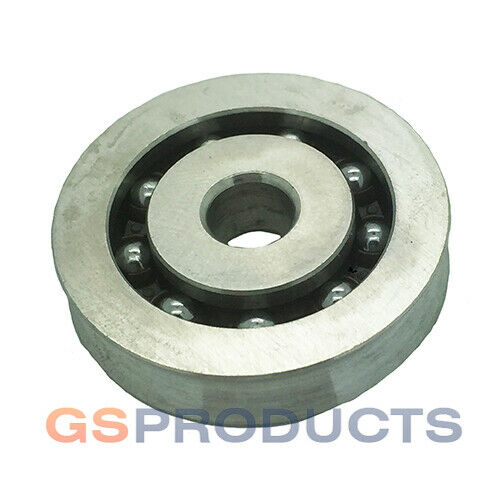 Stainless Steel 316 Pulley Wheel Sheave with Ball Bearings 38mm