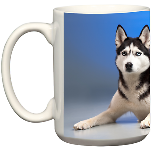 Image Is Loading Husky Dog Tea Coffee Mug Christmas Birthday Gift