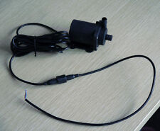 12V Mini Brushless DC pump High temp Lift 4m 900LPH water circulation system