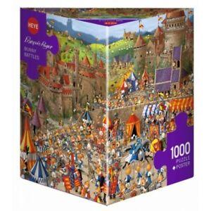FRANCOIS RUYER - BUNNY BATTLES - Heye Puzzle 29920 - 1000 Teile Pcs.