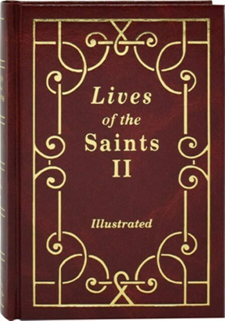 Lives Of The Saints Vol. 2 By Thomas J. Donaghy 1992, Hardcover, Large Type  - $11.04