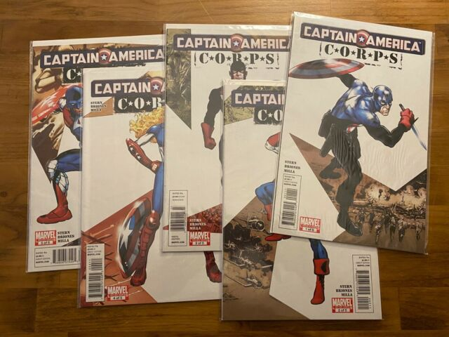 Captain America Corps - Limited Series - All Five Issues - Marvel - 2011