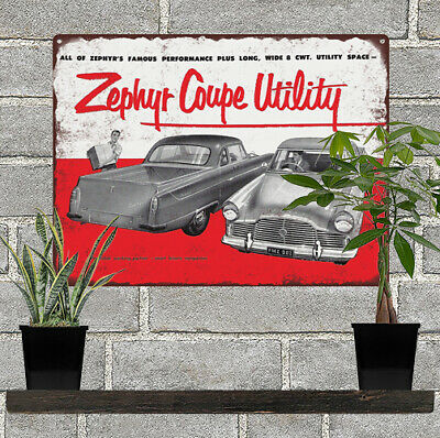 "LINCOLN ZEPHYR V-12 AUTHORIZED SERVICE 9/"" x 12/"" ALUMINUM Sign"
