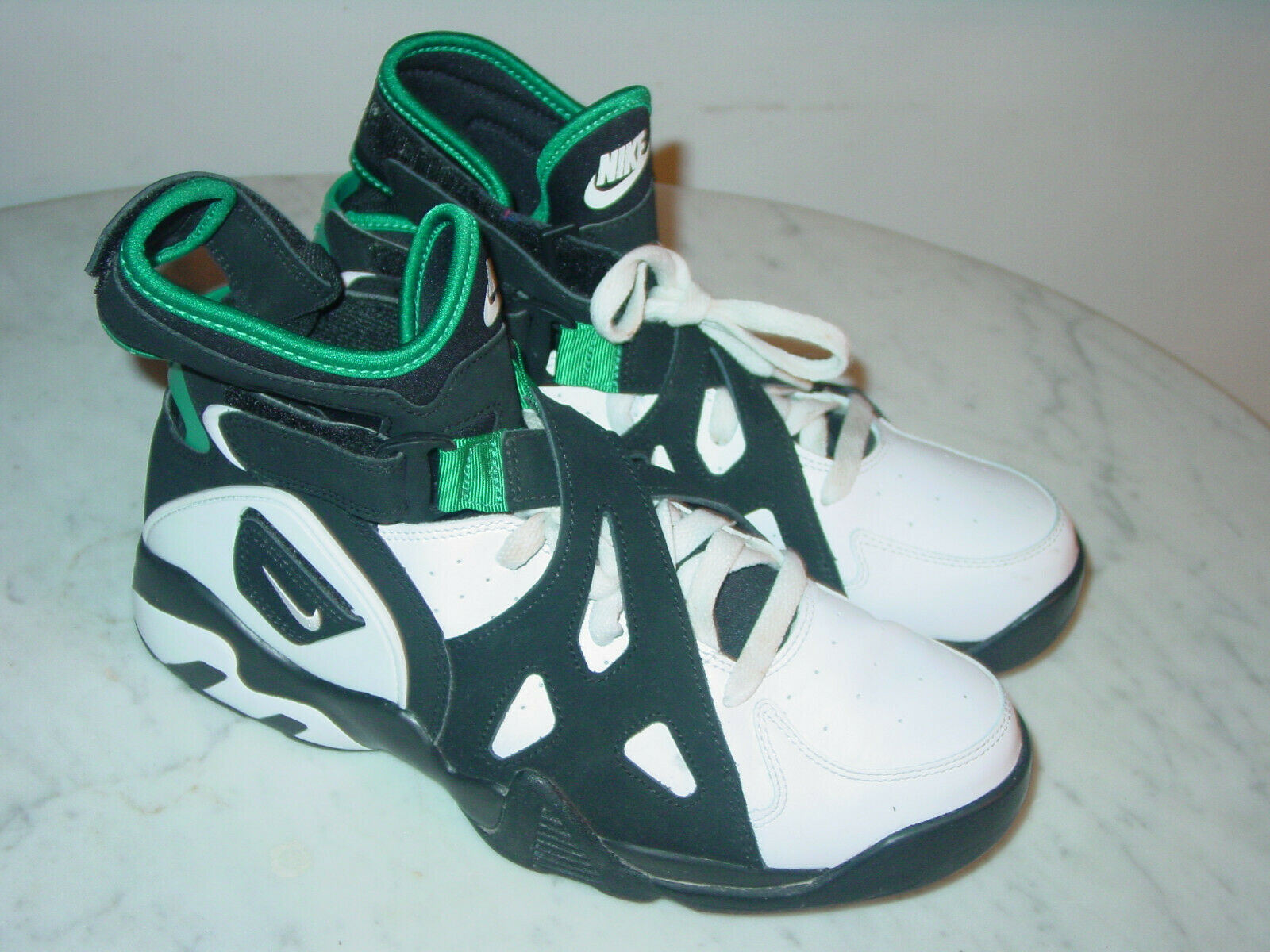 40a86077 2016 Nike Air Unlimited David Robinson Deep Emerald White shoes Size 8.5