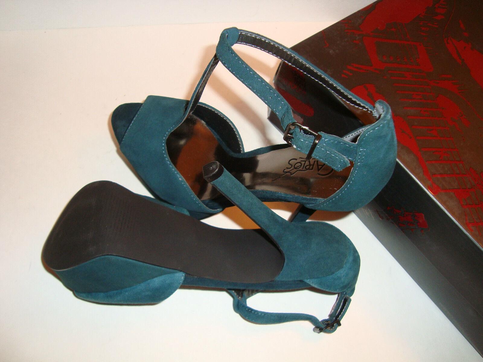 Carlos By Carlos Santana Damenschuhe NWB Sardinia Teal NEW Sandales Schuhes 7 MED NEW Teal 674d7c