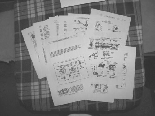 Lionel PW 1950-58 646,2046,2056 4-6-4 Locomotive Service /& Repair Manual