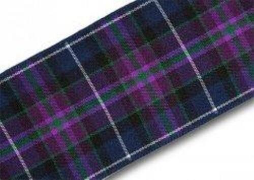 Pride of Scotland Modern tartan ribbon various widths END OF ROLL LENGTHS