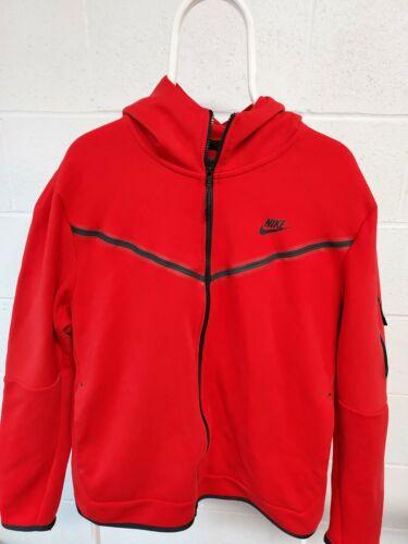 Nike SZ XL Red Full Zip Hoodie Sweatshirt