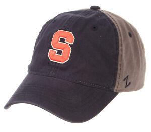 SYRACUSE-ORANGE-039-CUSE-NCAA-ADJUSTABLE-STRAPBACK-MOONSCAPE-2-TONE-DAD-CAP-HAT-NEW
