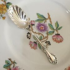 International Wild Rose Sterling Silver Sugar Spoon No Mono