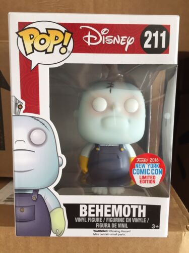 BEHEMOTH 2016 NYCC EXCLUSIVE FUNKO POP! NIGHTMARE BEFORE CHRISTMAS NEW