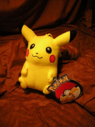 "New with Official Tags Toy Factory 6/"" Pikachu Plush Pokemon"