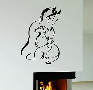 Wall Decal Horse Dog Cat Pet Animal Shelter Veterinary Clinic - Wall decals horses