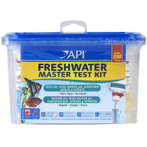 API Freshwater Master Test Kit Liquid pH Ammonia Nitrite Nitrate  317163010341