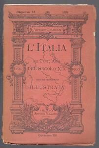 COMANDINI-L-039-ITALIA-NEI-CENTO-ANNI-DEL-SECOLO-XIX-ANNO-1851-DISPENSA-55-VALLARDI