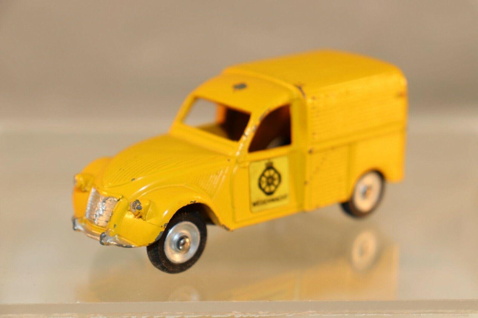 Dinky giocattoli 562 H Citroen 2 CV Wegenwacht ANWB STICKER VERSION VERY SautoCE