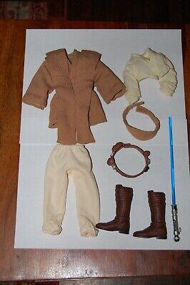 "Obi-Wan Kenobi AOTC 12/"" Outfit-Hasbro-Star Wars 1//6 Scale-Use To Customize"