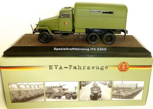 Especial vehículos de motor IFA g5ko RDA NVA vehículo atlas 1:43 OVP nuevo µg li1 *