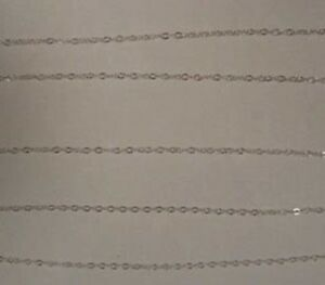 1mm 925 Solid Sterling Silver Fine Delicate Cable Chain ~ Sold by-the-foot ~Bulk