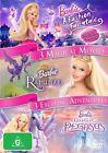 Barbie - A Fashion Fairytale / Barbie - Magic Of Pegasus / Barbie As Rapunzel (DVD, 2010, 3-Disc Set)