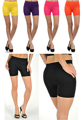 Fitness Mini Spandex Hot Boy Shorts Tights Booty Seamless Stretch Elastic