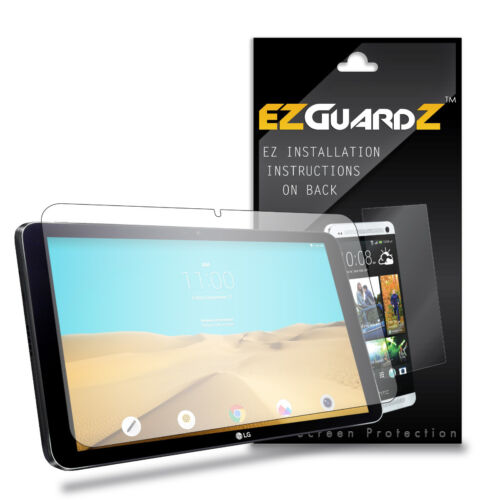 1X EZguardz LCD Screen Protector Cover Shield HD 1X For LG G Pad II 10.1 Tablet