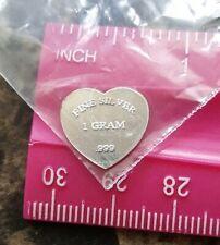 5 gram g Scottsdale Solid Silver Bar Pure .999 Fine Bullion in Sealed Plastic!