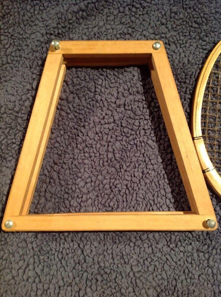 Vintage Rossignol Strato 4L Tenis Raqueta Junior con protección de madera madera de 5a37e1