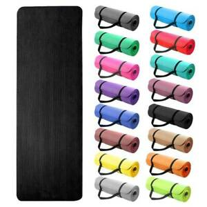 Yoga-Mat-15mm-Thick-Exercise-Fitness-Physio-Pilates-Gym-Mats-Non-Slip-Carrier