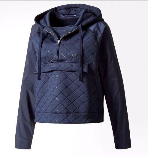 Adidas Originals Womens Hooded NMD Hooded Womens Windbreaker Jacket Medium Legend Ink BR9515 3ded08